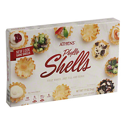 Athens Mini Fillo Shells, 15 ct